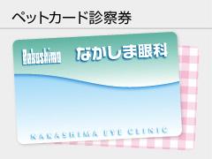 ペットカード診察券の写真