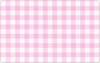 チェック:ピンク