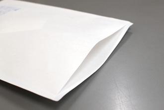 プリンター用薬袋の口の構造写真