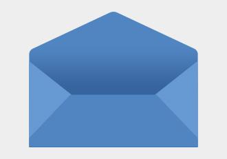 洋形封筒ダイヤモンド貼りを表したイラスト